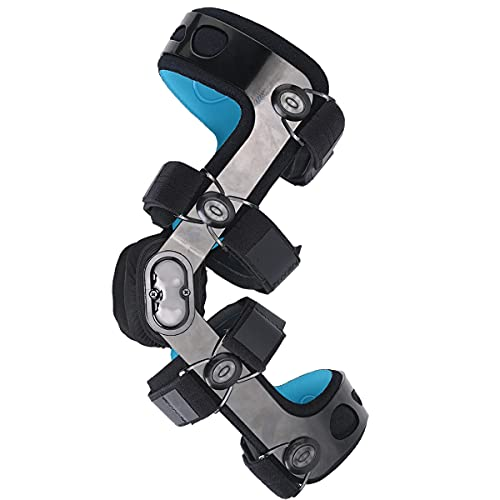 Orthomen Functional Knee Brace for ACL/MCL/PCL/Meniscus/Ligament/Sports Injuries (Left, L)