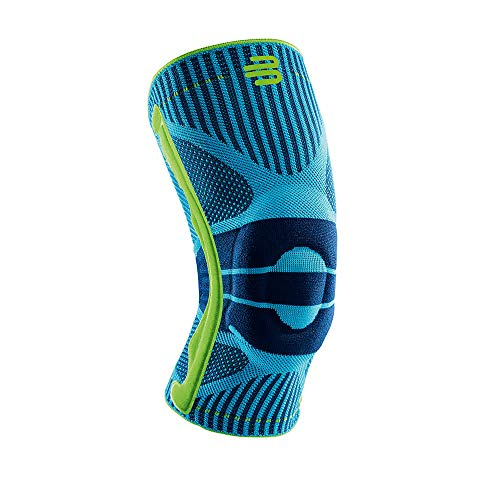 Bauerfeind Sports Knee Support - Knee Brace for Athletes with Medical Grade Compression - Stabilization and Patellar Knee Pad (Rivera, XXL)