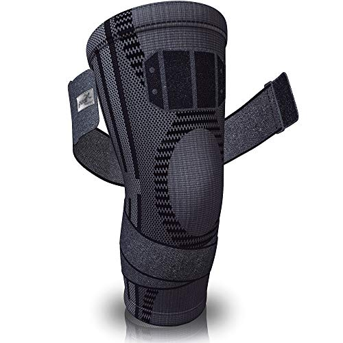 Pure Support Knee Brace, Compression Sleeve for Running, Arthritis Pain, Sports