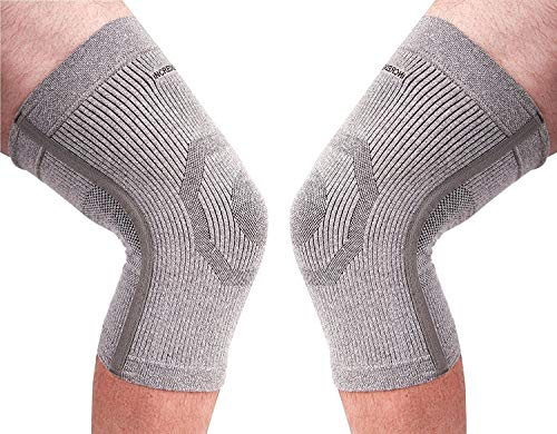 (PK of 2) Incrediwear Knee Sleeve - Radical Pain Relief for Aches & Injuries (XL)