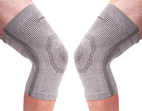 (PK of 2) Incrediwear Knee Sleeve - Radical Pain Relief for Aches & Injuries (M)